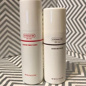 Coach Leather Moisturizer/Fabric Cleaner 6oz used